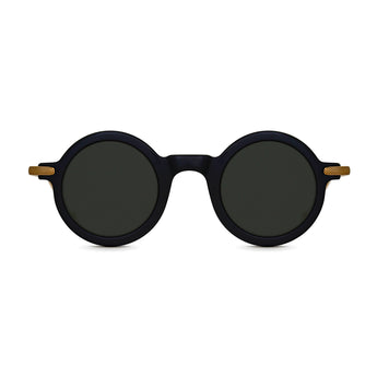 <strong>Jasper - T</strong> <br> Black / Gold Temples & Black