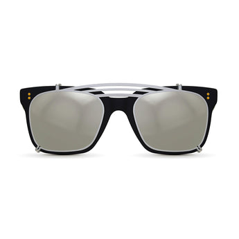 <strong>Winston - Triple Bridge</strong> <br> All Black w/ Silver Clip On