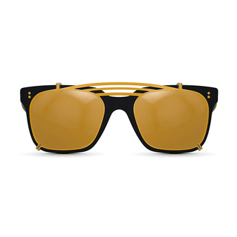 <strong>Winston - Triple Bridge</strong> <br> All Black w/ Gold Clip On