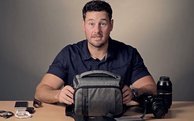 YouTube Video of BAGSMART Camera Shoulder Bag with Rain Cover