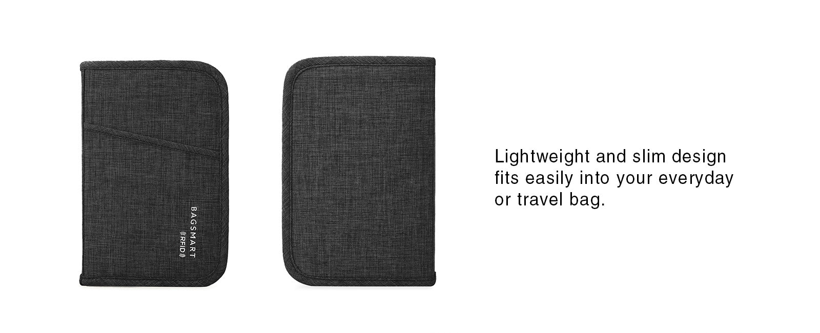 Travel RFID Blocking Wallet Passport Holder Cover Credit Card Organizer