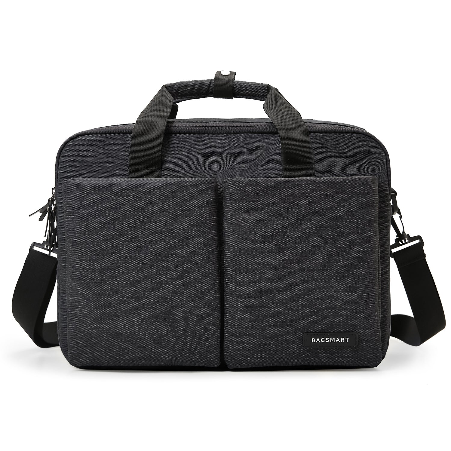 28e83eb5bf 15.6 inch Laptop Briefcase Water-Repellent Light Weight Computer Bag  Shoulder Expandable Extra Large Capacity
