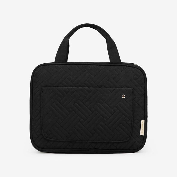 Double Layer Travel Universal Cable Organizer Cases Electronics Accessories Storage Bag for 10.5'' iPad Pro, iPad air, Charger, Kindle