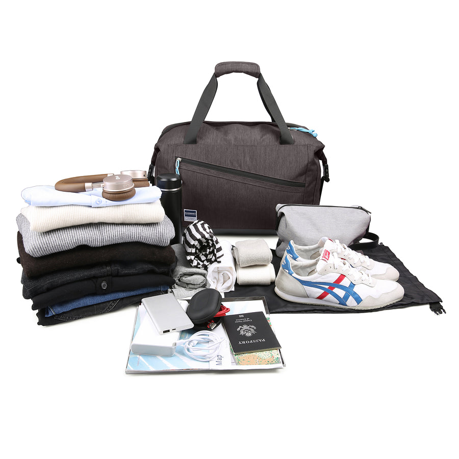 Travel Duffle Bag with Shoe Bag