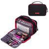Double-layer Travel Toiletry Bag Portable Makeup Cosmetic Bag Travel Kit Organizer