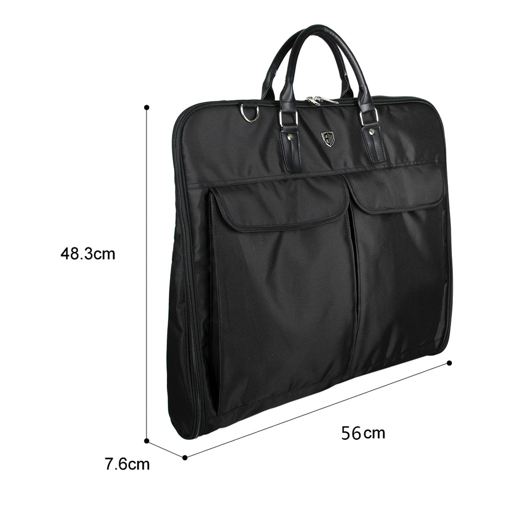 89da6b5035 Lakewood Garment Suit Bag with Shoulder Strap and Hanger - BAGSMART