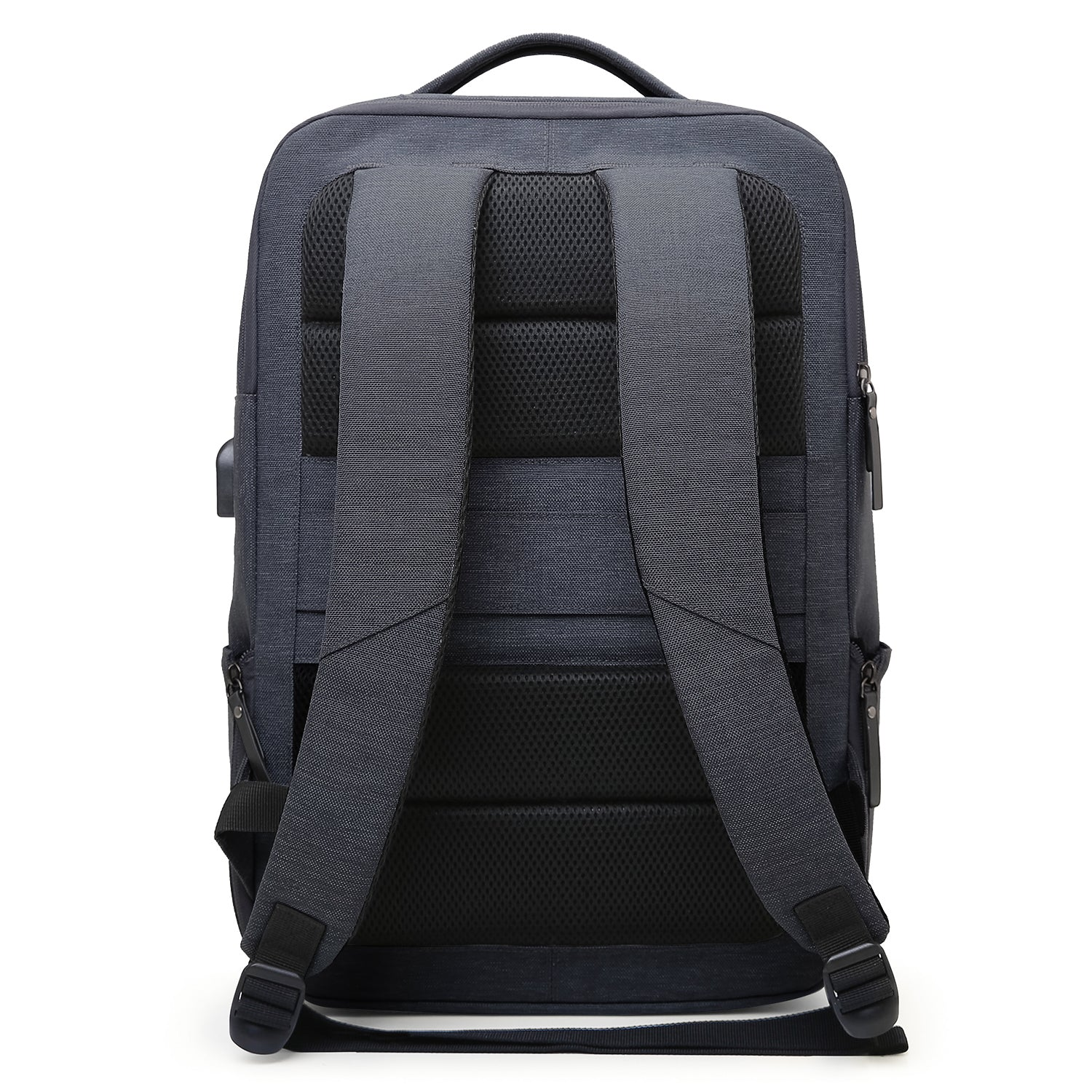 bca389168e Laptop Backpack Business Bags with USB Charging Port Anti-Theft Water  Resistant Polyester School Bookbag