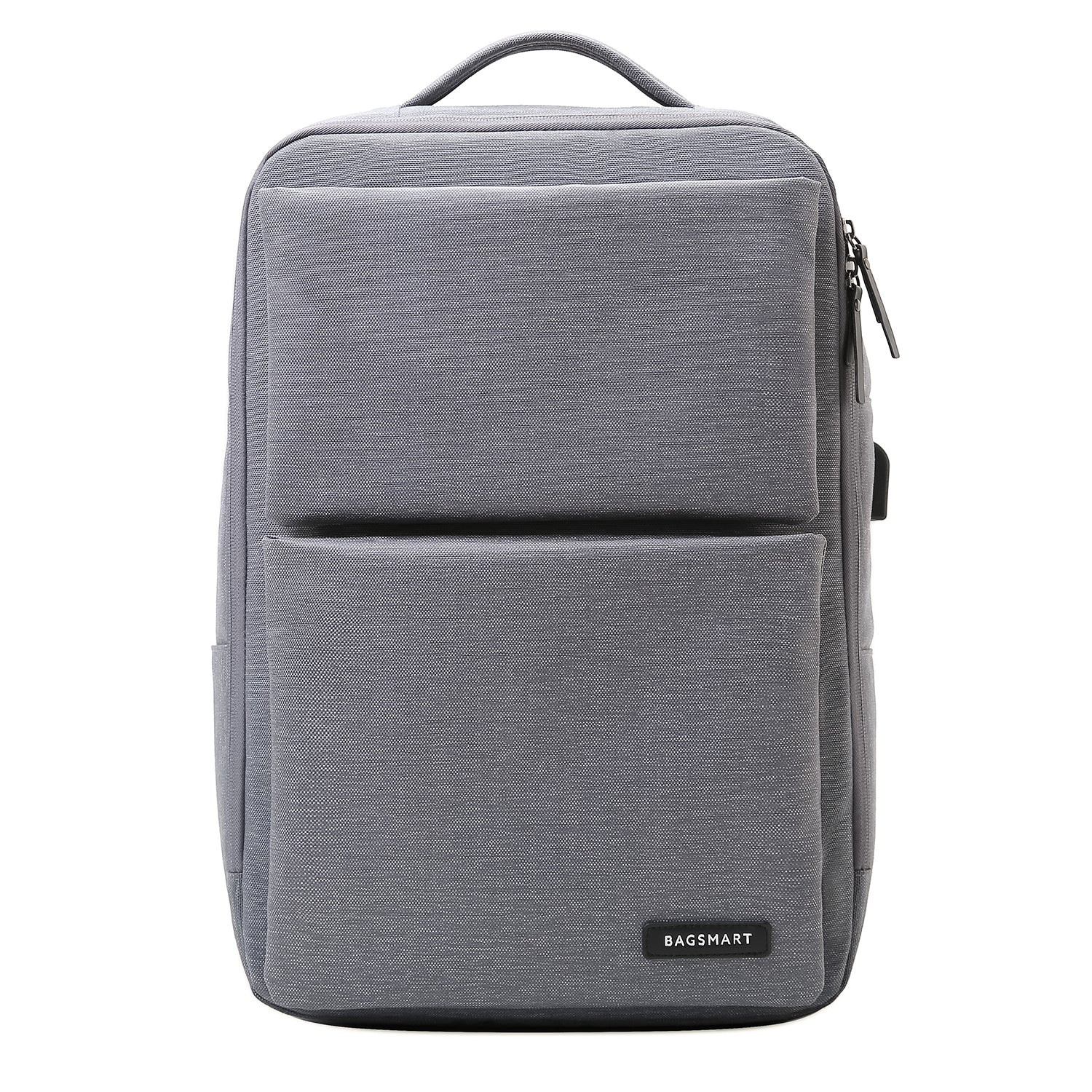 9cd9348224 Laptop Backpack Business Bags with USB Charging Port Anti-Theft Water  Resistant Polyester School Bookbag