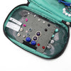 Portable Travel Hanging Jewelry Storage Case Ring Organiser Bag Earring Holder