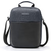 Small Messenger Bag Anti Theft Shoulder Cross Body Bags Waterproof Travel Purse Man Bag for Work Business Outdoors Black