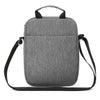 Small Messenger Bag Anti Theft Shoulder Cross Body Bags Waterproof Travel Purse Man Bag for Work Business Outdoors Black Gray