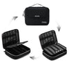 Universal Travel Cable Organizer Case Electronics Accessories Carry Bag for 9.7 inch iPad, Kindle, Power Adapter, Mac Book Charger