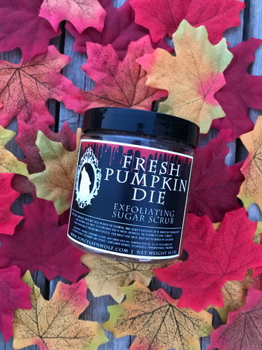 FRESH PUMPKIN DIE EXFOLIATING SUGAR SCRUB 5oz