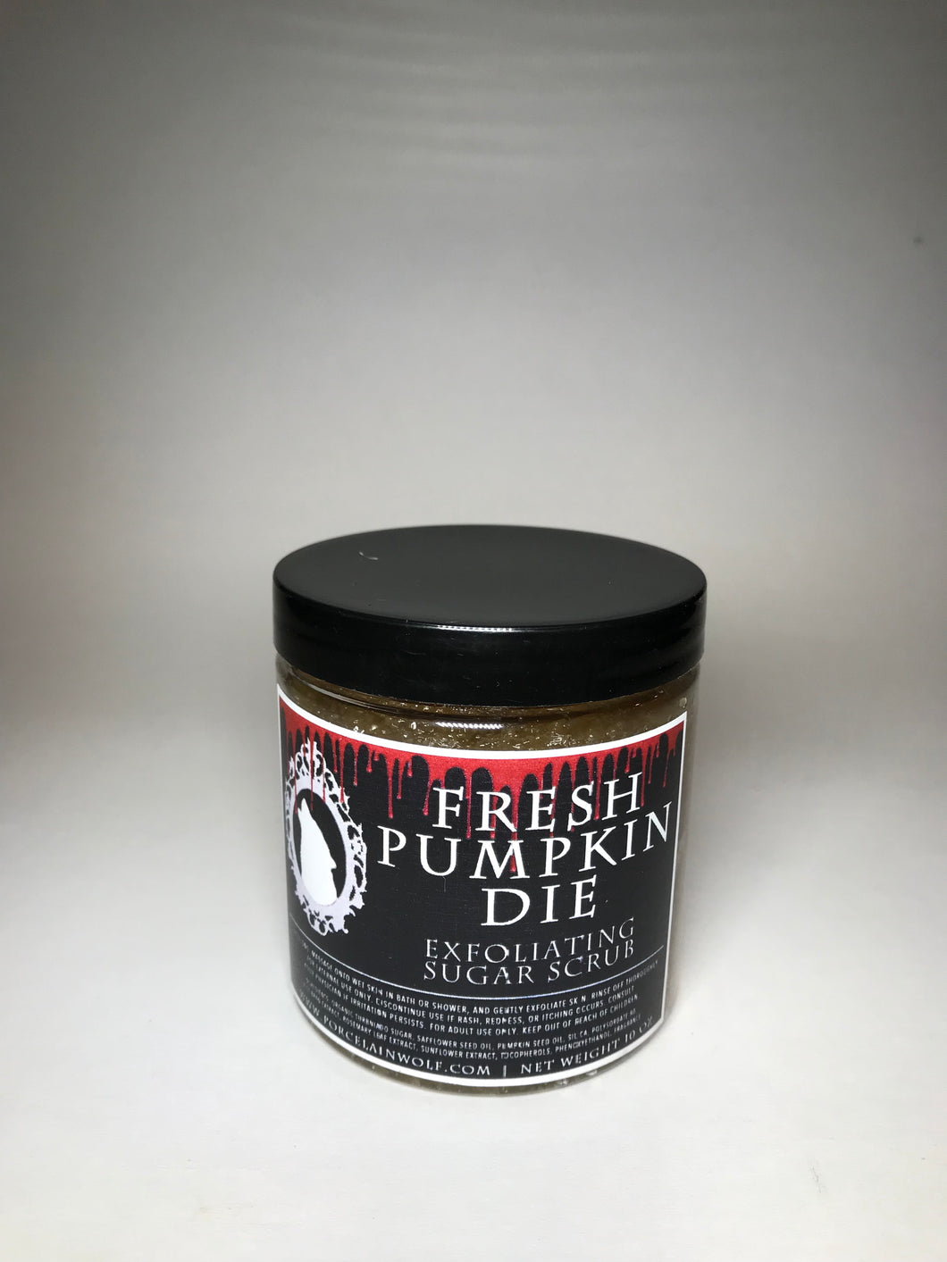 FRESH PUMPKIN DIE EXFOLIATING SUGAR SCRUB 10oz