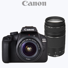 Canon EOS 4000D DSLR Twin Lens Kit