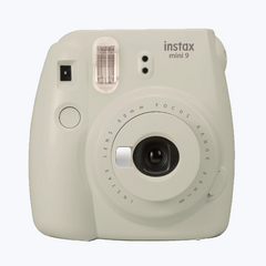 Fujifilm instax mini 9 Instant Film Camera - Smoky White