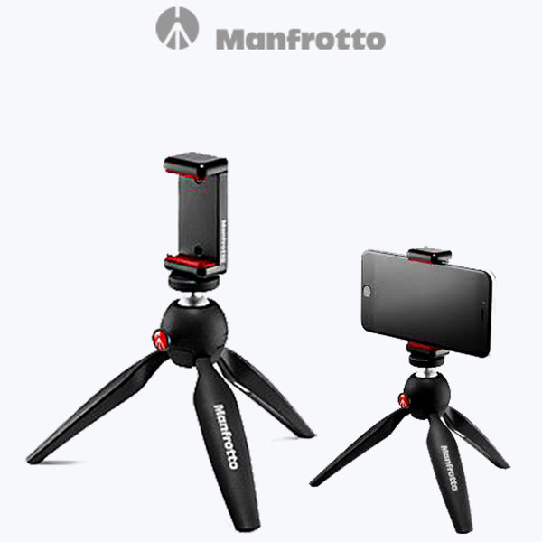 Manfrotto Pixi Smart: Mini Tripod with Smartphone Clamp