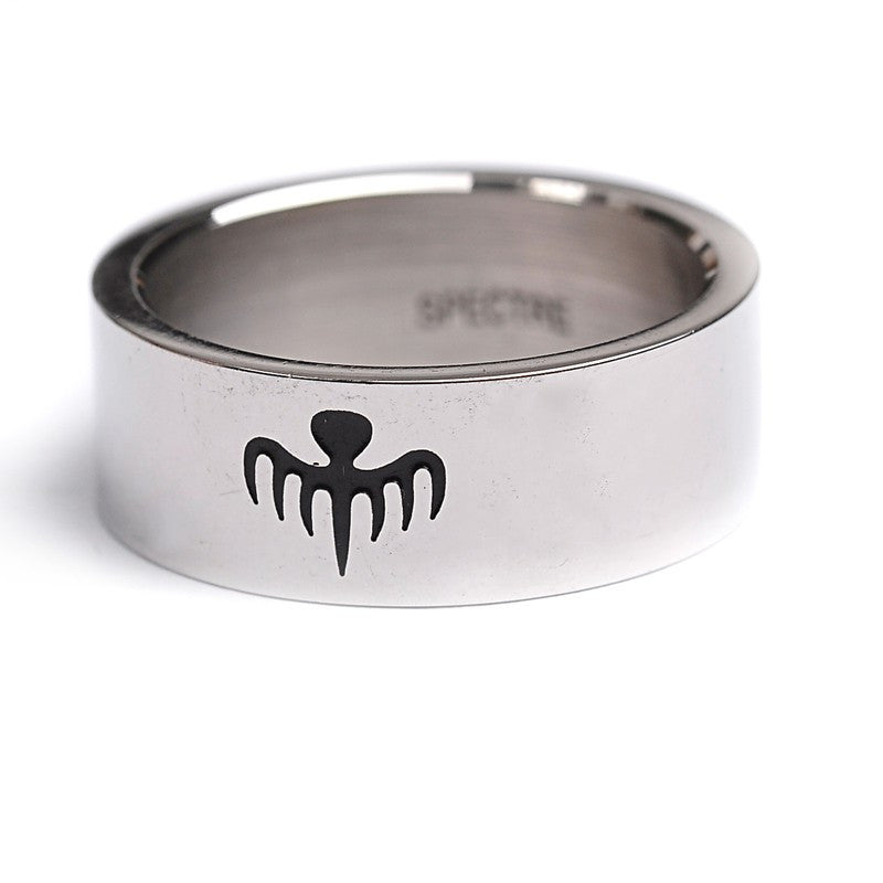 James Bond Replica Titanium Steel Ring