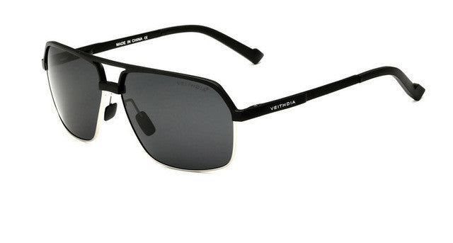 Magnesium Alloy Polarizing Sunglasses,Black