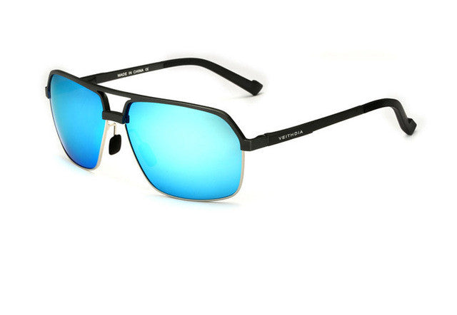 Magnesium Alloy Polarizing Sunglasses,Blue