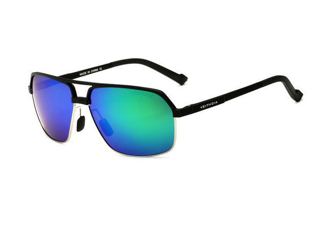 Magnesium Alloy Polarizing Sunglasses,Green