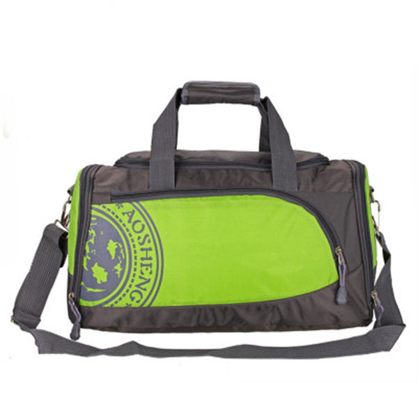 "Nylon Gym Bag / Multiple Colors (18""x 10 x 81/2""),Green"