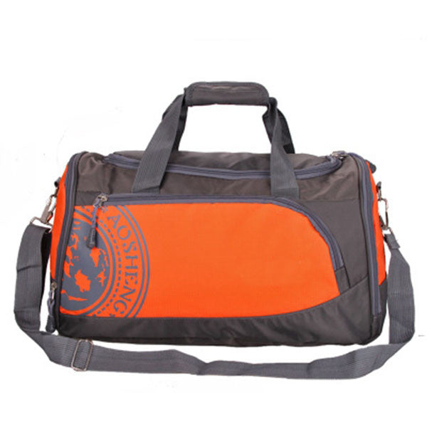 "Nylon Gym Bag / Multiple Colors (18""x 10 x 81/2""),Orange"