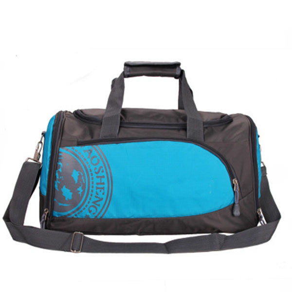 "Nylon Gym Bag / Multiple Colors (18""x 10 x 81/2""),Blue"