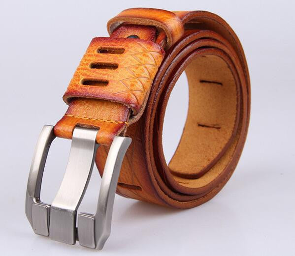High Quality Designer Belt / Multiple Colors,brown / 105cm
