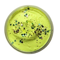Lemon Sherbet Shower Fluff (whipped soap)