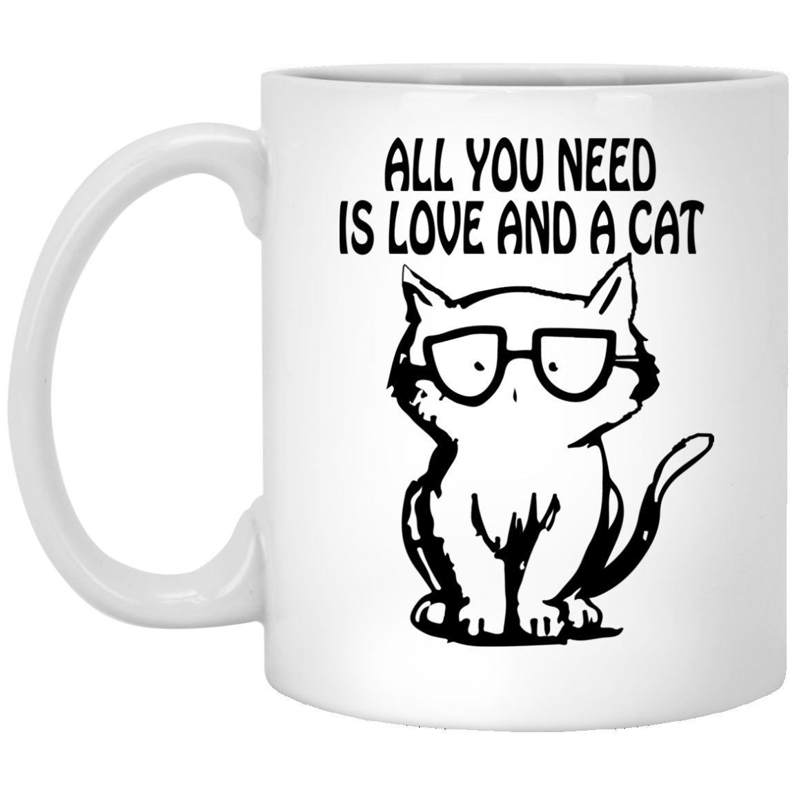 All You Need Is Love And A CatMug