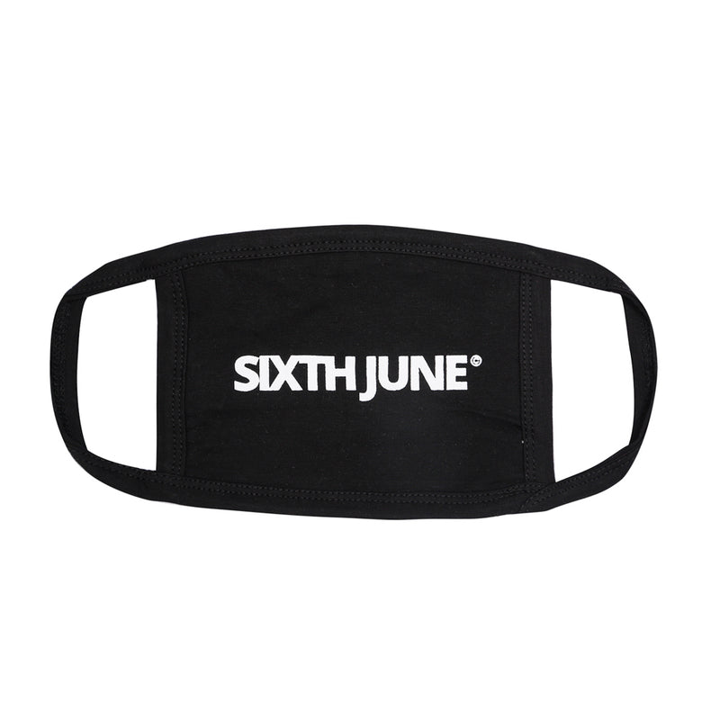 Masque logo Sixth June noir