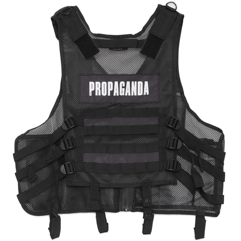 Propaganda Reflective Tactical Jacket Black