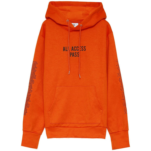 Monsters tour hoodie orange