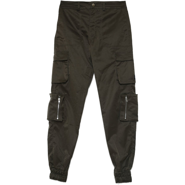 Zipped cargo pants Khaki