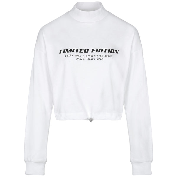 Sweatshirt Limited Edition blanc