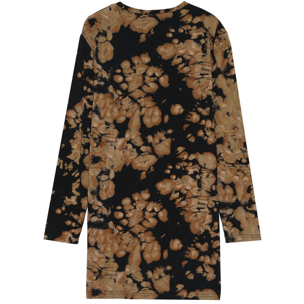 Robe tie dye limited edition noir