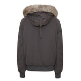 SHORT PARKA WITH FUR