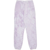 Jogging tie and dye violet