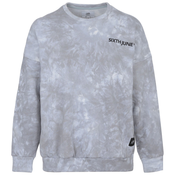 Sweat tie and dye gris