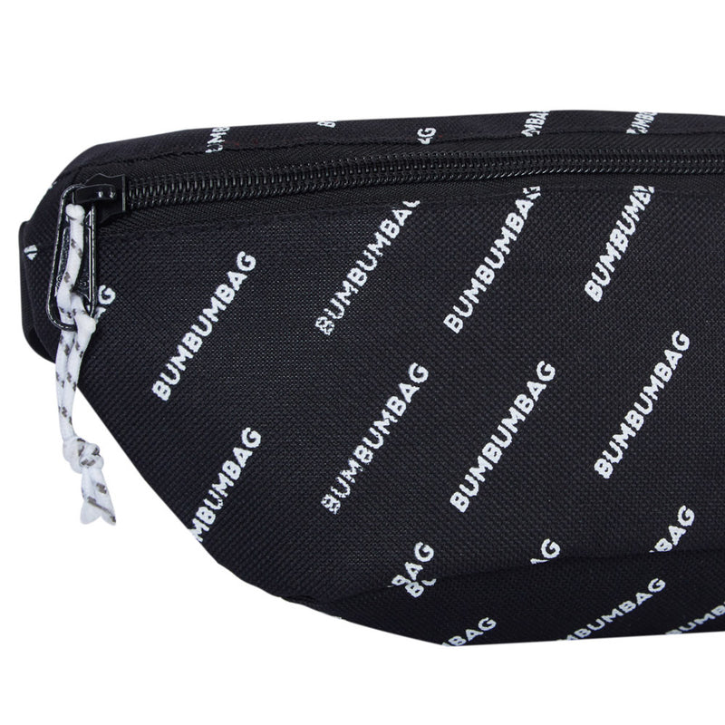 logomania chest bag black