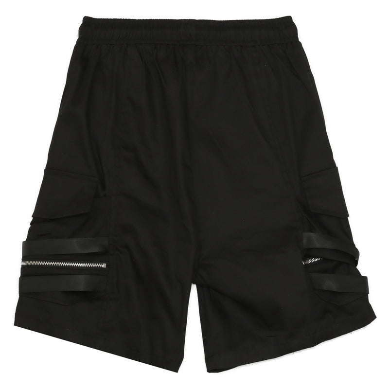 Short cargo tactique noir
