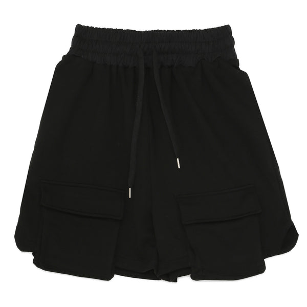 Cargo pocket shorts black