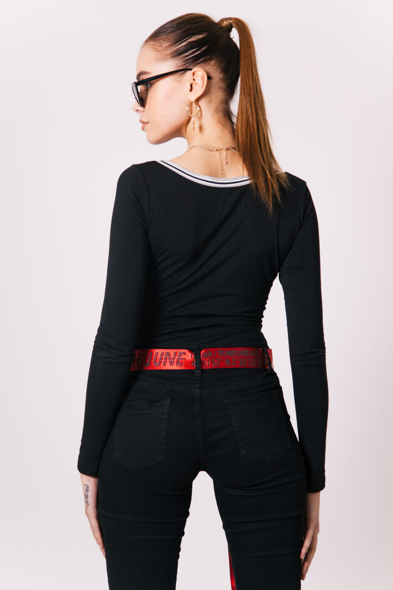 Ceinture GPS collab rouge