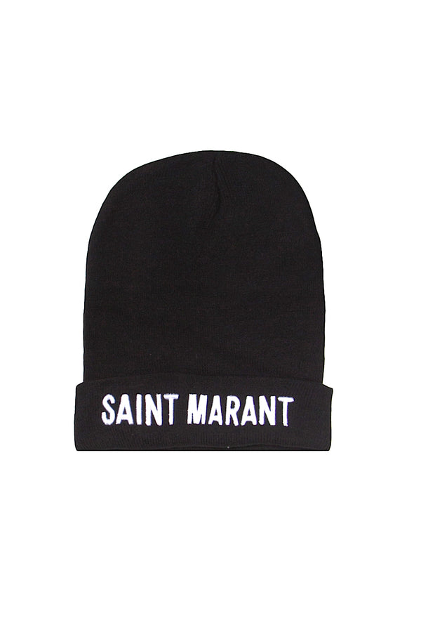 Bonnet Saint Marant Sixth June noir 1356F