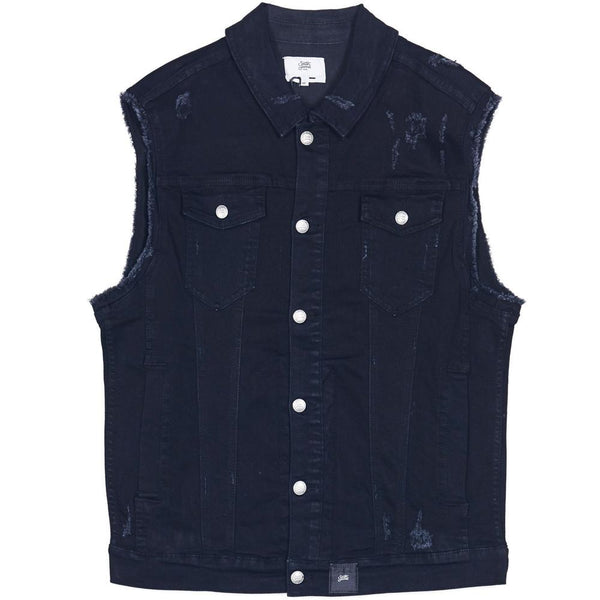 denim jacket sleeveless