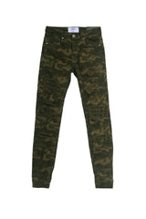 Jean destroy Sixth June camouflage M2317HDE