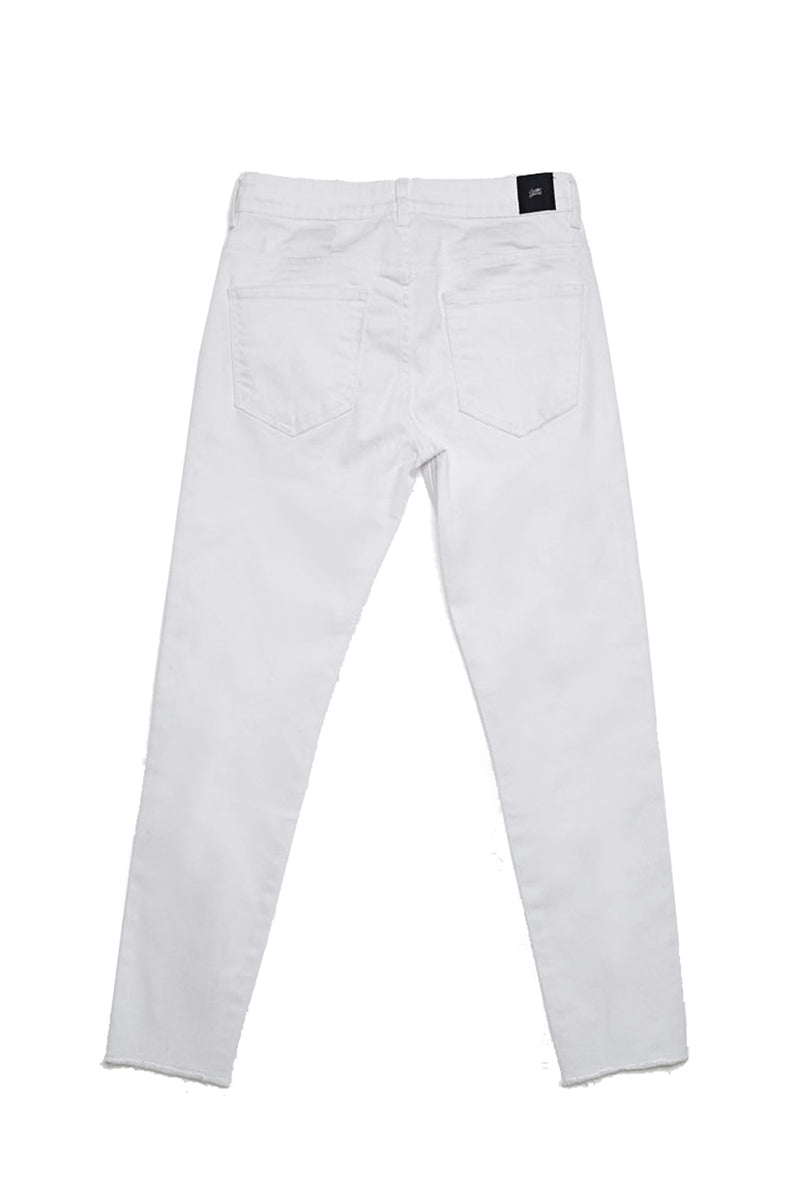 Denim crop denim white M2460HDE