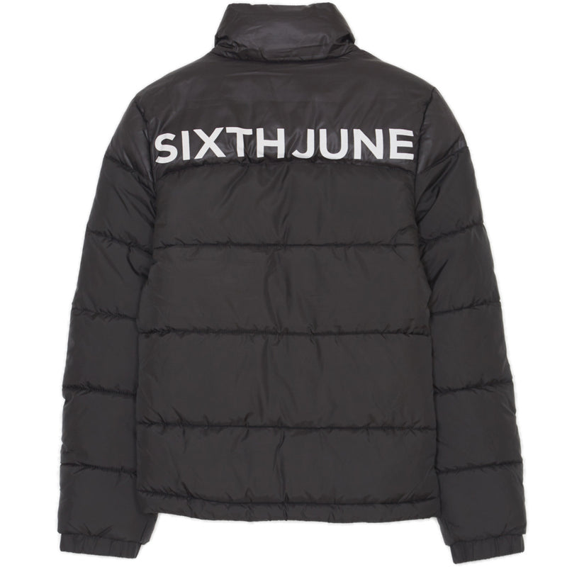 downjacket with big sixth june