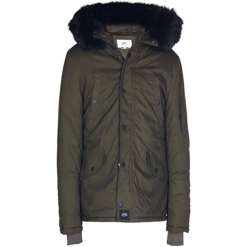 short parka in cotton
